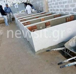 Γλυφάδα: Εικόνες ντροπής στο νεκροταφείο