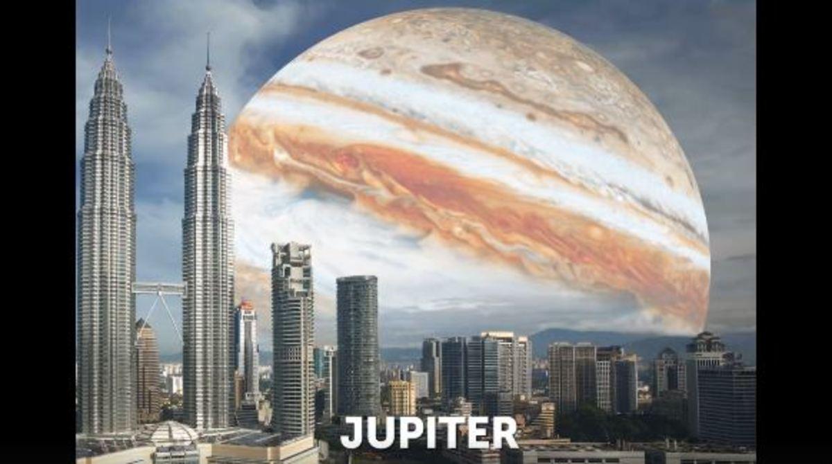 Πώς θα ήταν ο ουρανός αν αντί φεγγάρι βλέπαμε διάφορους πλανήτες | Newsit.gr