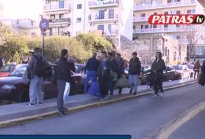 Χαμός στα ΚΤΕΛ της Πάτρας λόγω καρναβαλιού [vid]