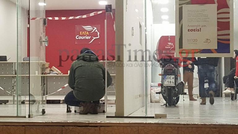 Πάτρα: Ένοπλη ληστεία στα ΕΛΤΑ Courier  – Άρπαξε 2.000 ευρώ ο δράστης [vids] | Newsit.gr