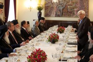 Παυλόπουλος: Conditio sine qua non η αρμονική συνύπαρξη και συνεργασία Πολιτείας – Εκκλησίας
