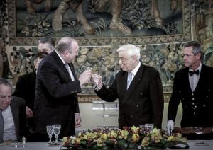Παυλόπουλος: «Η Ελλάδα υποστηρίζει σταθερά την περαιτέρω σύσφιξη των σχέσεων της Γεωργίας με τους Ευρωπαϊκούς θεσμούς»