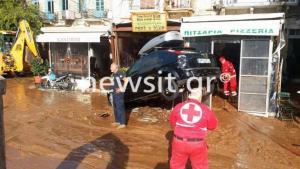 """Σύμη: Ανάβουν φωτιές τα πρόστιμα σε πλημμυροπαθείς – Οργή για τα """"ραβασάκια"""" που φτάνουν στα χέρια τους [pics]"""