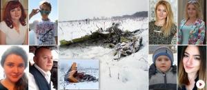 Ρωσία: Αυτά είναι τα πρόσωπα της αεροπορικής τραγωδίας