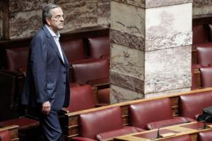 Σαμαράς για Novartis: Ο ΣΥΡΙΖΑ μετατρέπει ένα παγκόσμιο σκάνδαλο σε λασπολογία κατά της ΝΔ