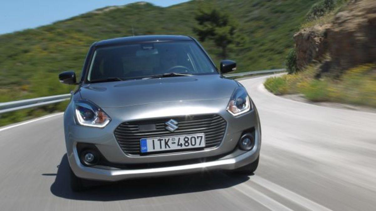 Δοκιμάζουμε το νέο Suzuki Swift 1.2 SHVS [pics] | Newsit.gr