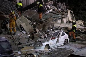 Δεν σταματά να τρέμει η Ταϊβάν! Νέος σεισμός 5,7 Ρίχτερ – 7 νεκροί και 64 αγνοούμενοι