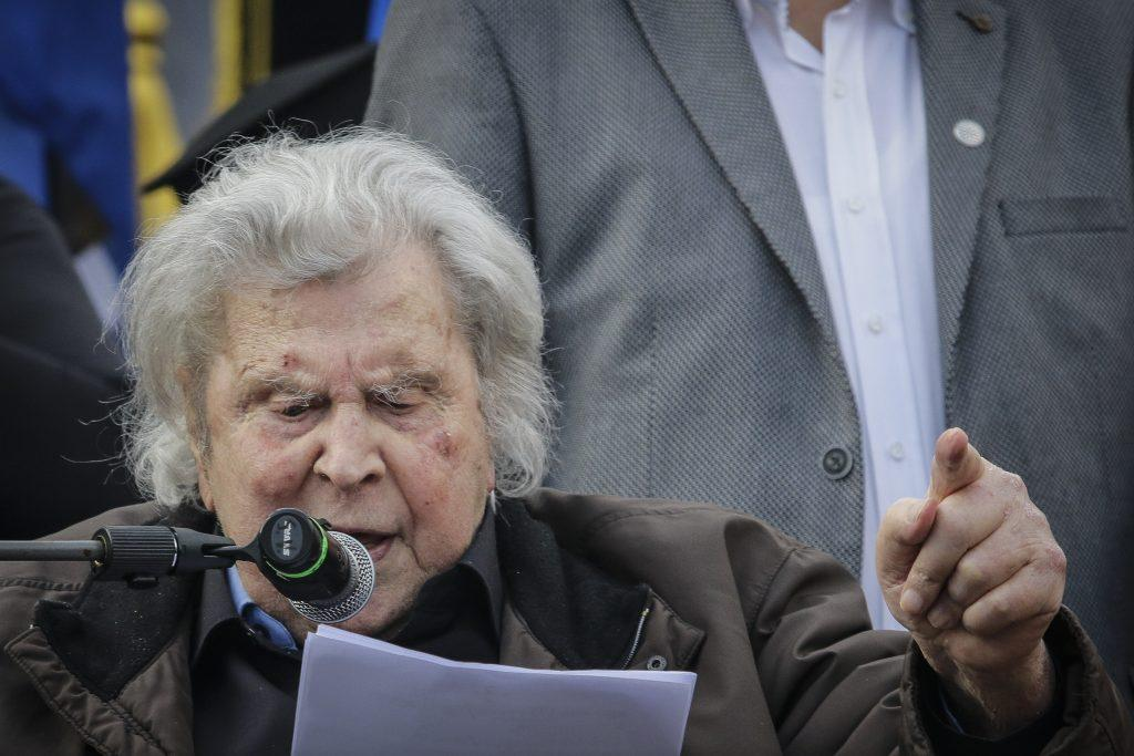συλλαλητήριο Μακεδονία Μίκης Θεοδωράκης