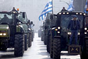Αγρότες από Θεσσαλονίκη: Πίσω δεν κάνουμε! Θα μας δουν στην πρωτεύουσα! [pics]