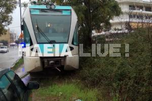Πύργος: Ο εκτροχιασμός τρένου προκάλεσε πανικό – Η μικρή ταχύτητα έσωσε τους επιβάτες του [pics]