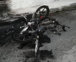 Τρίκαλα: Αστυνομικός βρήκε το μηχανάκι του σε αυτή την κατάσταση – Συμπληρώθηκε το πάζλ με συλλήψεις [pic]