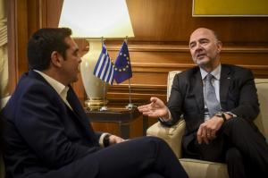 Τσίπρας – Μοσκοβισί: «Το προσεχές καλοκαίρι θα είναι ένα ιστορικό όροσημο για την Ελλάδα»