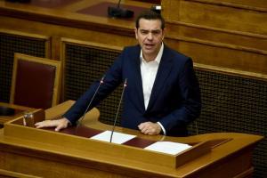 Η ομιλία Τσίπρα στην Κοινοβουλευτική Ομάδα για τη Novartis