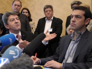 Πολιτική θύελλα από την απαίτηση Μελανσόν να πετάξουν τον ΣΥΡΙΖΑ από την Ευρωπαϊκή Αριστερά