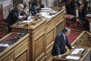 Βουλή – Σαμαράς: «Σκοτωμός» με Βούτση, έξαλλος με βουλευτή του ΣΥΡΙΖΑ! «Το παραχ@@@τε» [vid]