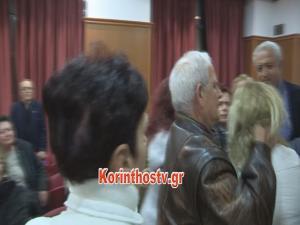 Λουτράκι: Ήρθαν στα χέρια για το νερό στο δημοτικό συμβούλιο [vid]