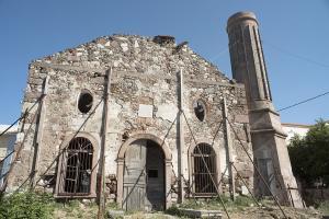 Μυτιλήνη: Αλλάζει όψη το ξεχασμένο Βαλιδέ Τζαμί – Έργα αναστήλωσης 1.200.000 ευρώ [pic]