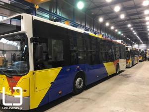 Θεσσαλονίκη: Ο ΟΑΣΘ παρέλαβε από την ΕΛΒΟ τα πρώτα επιδιορθωμένα λεωφορεία – Τι προβλέπει η συμφωνία [pic, vid]