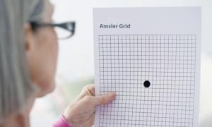 Κάντε ΕΔΩ το τεστ Amsler για εκφύλιση ωχράς κηλίδας, ή άλλα προβλήματα όρασης