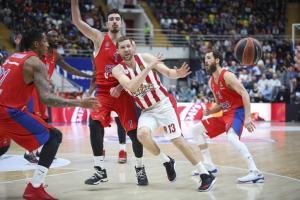 ΤΣΣΚΑ – Ολυμπιακός: Τα highlights του αγώνα [vid]
