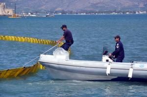 Χανιά: Άσκηση ετοιμότητας για την αντιμετώπιση θαλάσσιας ρύπανσης