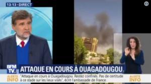 Επίθεση στην Μπουρκίνα Φάσο: Εξουδετερώθηκαν 4 ένοπλοι – Έβαλαν στόχο τη γαλλική πρεσβεία [vid]