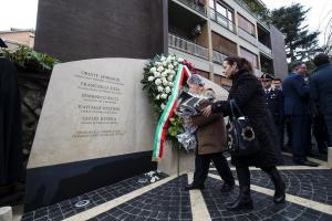 Τελετή μνήμης για την απαγωγή του Άλντο Μόρο από τις Ερυθρές Ταξιαρχίες