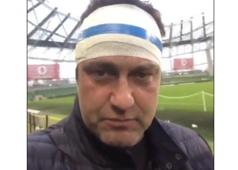Gerard Butler: Τραυματίστηκε στο γήπεδο ο γόης του Χόλιγουντ! [vid] | Newsit.gr