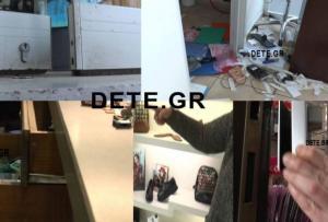 Πάτρα: Πέντε διαρρήξεις τα ξημερώματα σε μαγαζιά [vid]