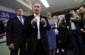 Πούτιν: Ο αναπόφευκτος ηγέτης της Ρωσίας! Σαρωτικά τα ποσοστά του