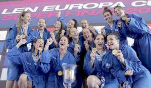 «Χρυσές» γυναικάρες! Η Εθνική πόλο κατέκτησε το πρώτο Europa Cup