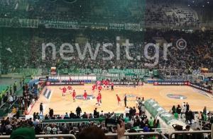 Παναθηναϊκός – Ολυμπιακός 85-87 ΤΕΛΙΚΟ