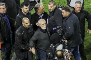 ΠΑΟΚ – ΑΕΚ: Αφαίρεση βαθμών και κεκλεισμένων των θυρών! 3 έτη απαγόρευση εισόδου στον Σαββίδη
