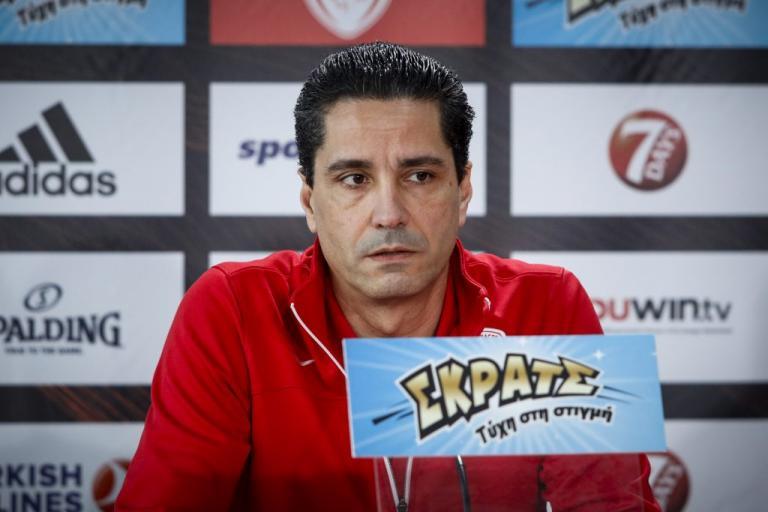 Ολυμπιακός – Σφαιρόπουλος: «Έχουμε ένα… ύπουλο παιχνίδι με Μπάμπεργκ»