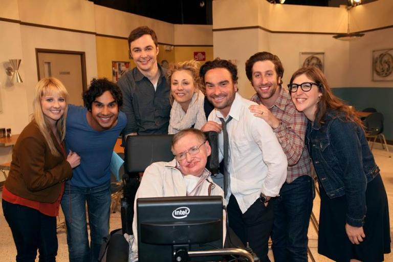 Το συγκινητικό αντίο του Big Bang Theory στον Στίβεν Χόκινγκ | Newsit.gr