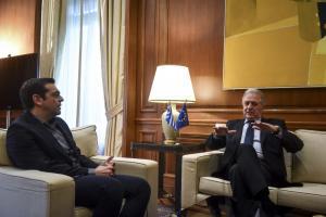 Τα είπαν Τσίπρας – Αβραμόπουλος για το προσφυγικό