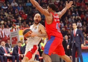 ΤΣΣΚΑ – Ολυμπιακός: Η… δεύτερη θέση περνάει απ'τη Μόσχα