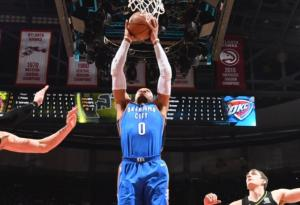 NBA: Νέο triple – double από Γουέστμπρουκ! Νίκες για Ρόκετς και Μπλέιζερς