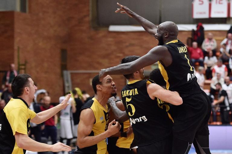 Basketball Champions League: Απίστευτη πρόκριση στα προημιτελικά για ΑΕΚ! Ο Πάντερ «σκότωσε» τη Νίμπουρκ [vid] | Newsit.gr