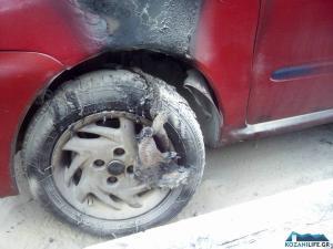 Λαμπάδιασε αυτοκίνητο στην Κοζάνη – Υποψίες για εμπρησμό [pics]