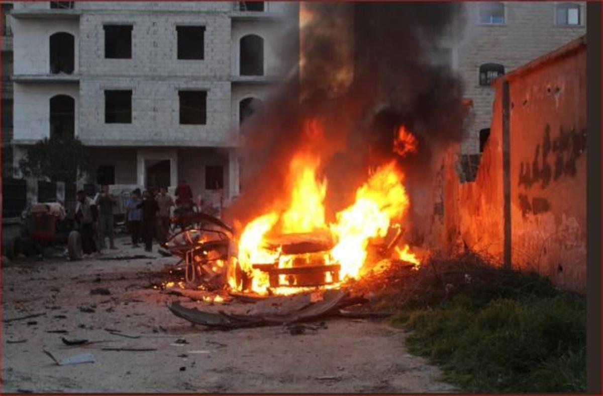 H Toυρκία ρίχνει βόμβες στο Αφρίν – Συγκλονιστικές εικόνες | Newsit.gr