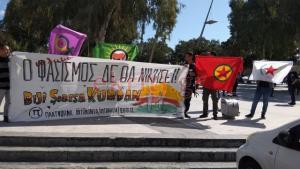 Κρήτη: Συνθήματα για το Αφρίν στα γραφεία της Περιφέρειας – Θερμή υποδοχή στην πρόξενο της Τουρκίας [pics]