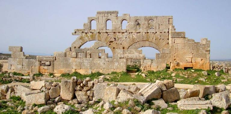 Τουρκική βαρβαρότητα: Κατέστρεψαν χριστιανικό μνημείο της UNESCO έξω από την Αφρίν [pics] | Newsit.gr