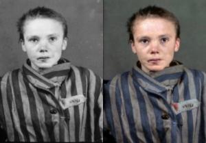 Άουσβιτς: Έβαλαν χρώμα στις συγκλονιστικές φωτογραφίες της παράνοιας