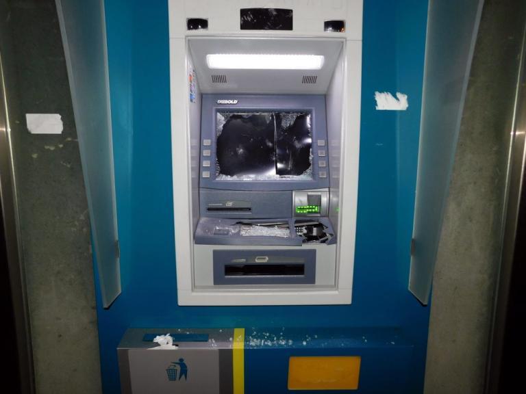 Ανατίναξαν δύο ATM στην Αχαρνών κι έφυγαν με τα χρήματα! | Newsit.gr