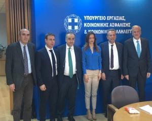 Συνάντηση Αχτσιόγλου με τους προέδρους των δικηγορικών συλλόγων