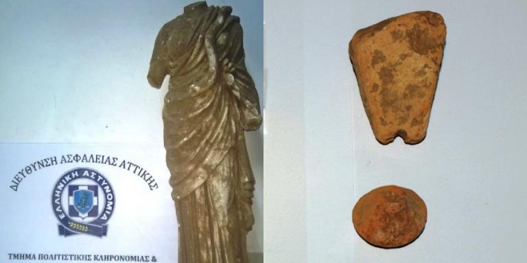 Σπάρτη: Αυτό είναι το άγαλμα της θεάς Υγείας που αρχαιοκάπηλοι το πουλούσαν για μισό εκατομμύριο ευρώ | Newsit.gr