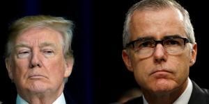 """""""Μαλλιά κουβάρια μετά από νέα απόλυση στο FBI! Πανηγυρισμοί Τραμπ"""