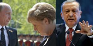 Συγχαρητήρια Μέρκελ και Ερντογάν σε Πούτιν