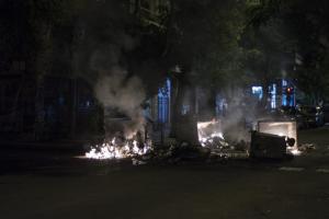 Εξάρχεια: Τρεις ώρες… «μάχη» με μολότοφ και δυο συλλήψεις